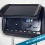 """TelematikTeam: 9"""" Riesen-Toucscreen: Multimedia/Rearseat-Entertainment-Nachrüstlösung incl. VOR-ORT-EINBAU..."""