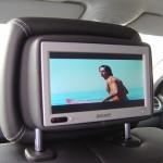 Rearseatentertainment im Mercedes-Benz ML320cdi (W164) von TelematikTeam
