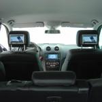 Umrüstung Mercedes ML (W164) durch TelematikTeam + Rückfahrkamera + Multimediakopfstützen + DVB-T + Fahr/Freischalt-Modul...