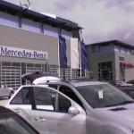 TelematikTeam: Lieferung + mobiler VOR-ORT-Einbau von OVERHEAD-DISPLAY + DVD-Player in Mercedes-Benz ML320cdi