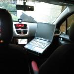 Lieferung + Multimedia-Kopfstützenmontage + DVB-T + 2-DIN-Navigationsradio + Multimedia-Freisprechanlage + Office-Halterung für Notebook/s in Peugeot 207 durch TelematikTeam