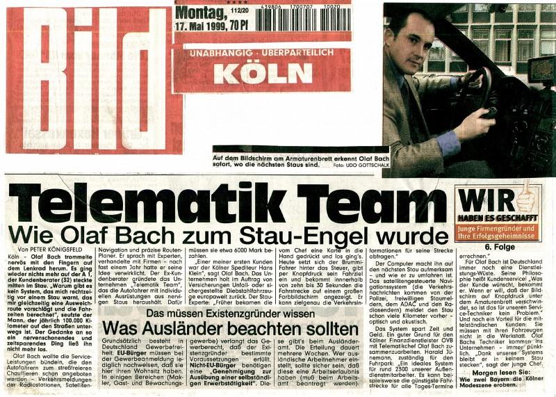 TelematikTeam in der Presse - PRESSESPIEGEL: