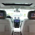 """Lieferung + Multimedia-Kopfstützenmontage + DVB-T in Mercedes-Benz """"ML"""" durch TelematikTeam"""