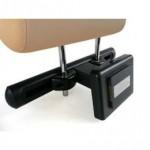 TelematikTeam: Stylische Rücksitzkino-Lösung mit VOR-ORT-EINBAUSERVICE (am Fahrzeugstandort) durch TelematikTeam - incl. verdeckter Kabelführung, Dockingstation.